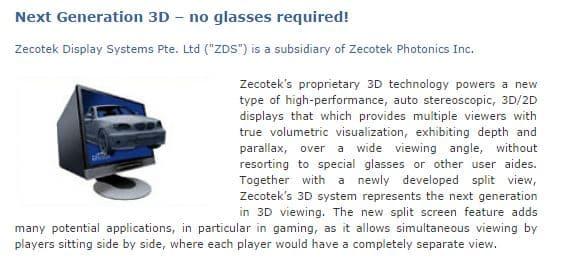 Zecotek_3D_Display