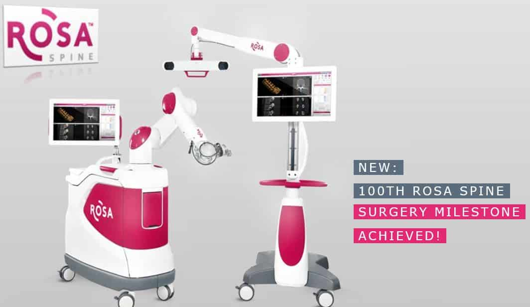 Rosa Robotic Surgery Device