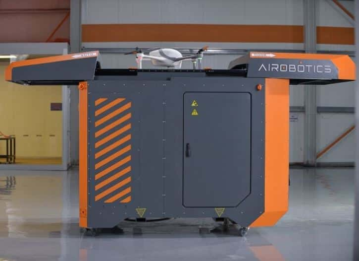 Airobotics Security Drone Charging Station